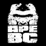 ape bc rock band logo a mixing and mastering client of sara carter