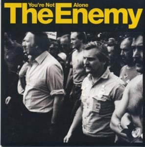 vinyl single cover for the enemy mix engineer for BBC session