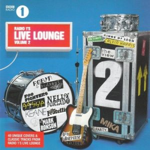 cd album cover BBC live lounge volume 2 mix engineer sara carter