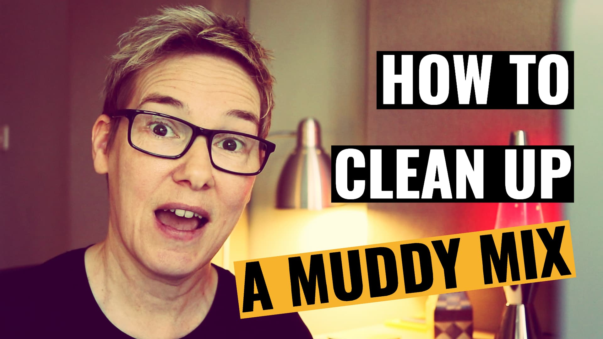 how to clean up a muddy mix