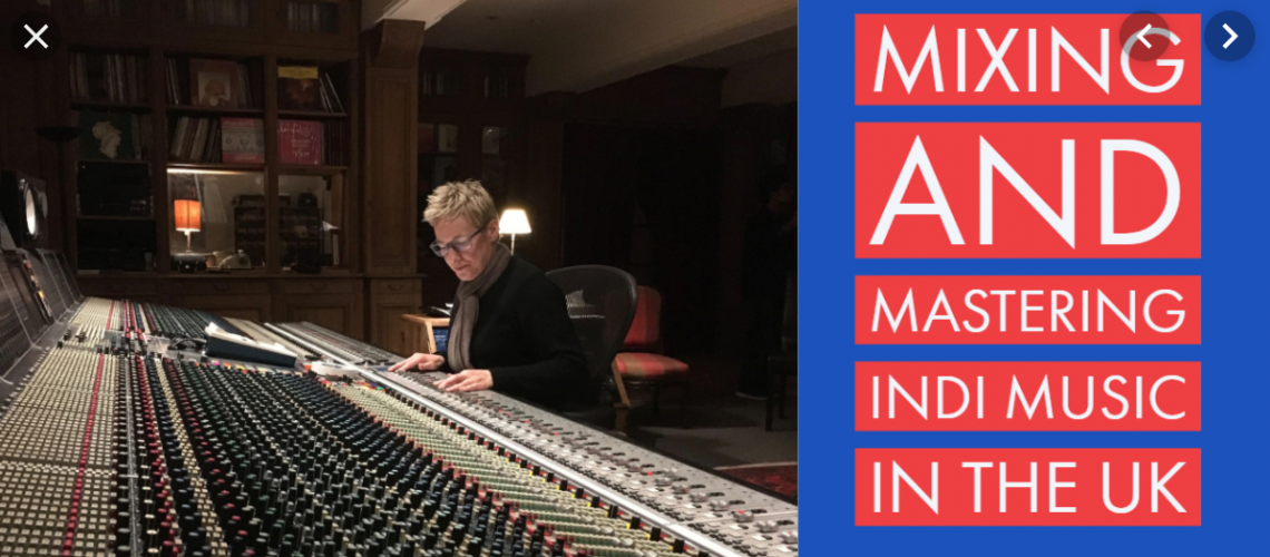 mixing and mastering music in the uk